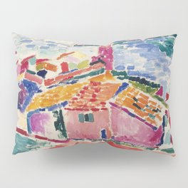 View of Collioure - Henri Matisse - Exhibition Poster Pillow Sham