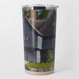The Witch House by Kevin Kusiolek Travel Mug