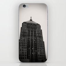 Chicago Board of Trade Building Black and White iPhone & iPod Skin