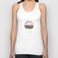 parks Tank Tops featuring National Parks: Zion by Roadtrippers