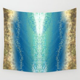 Abstract Seascape 04 wc Wall Tapestry