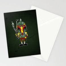 SpongeBoba Fett - Star Wars Spongebob mashup Stationery Cards