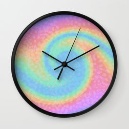 Candy Wave Wall Clock