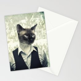 Fancy Cat Stationery Cards