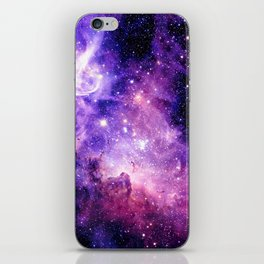 Galaxy Nebula Purple Pink : Carina Nebula iPhone Skin
