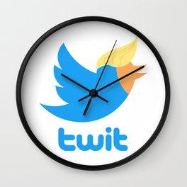 twit Wall Clock