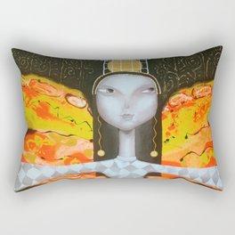 Mademoiselle butterfly Rectangular Pillow