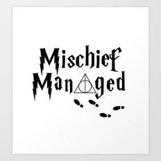 HP shirt Art Print