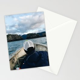Exploring Gull Island Stationery Cards