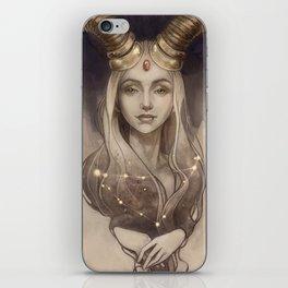 Zodiac Capricorn iPhone Skin