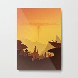 DOOM Metal Print