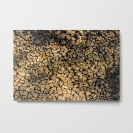 Need Wood? Metal Print
