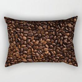 Coffee Beans Rectangular Pillow