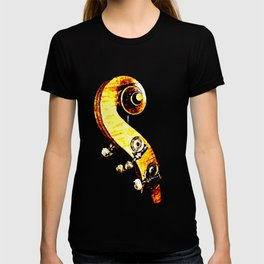 Jazz Contrabass Neck T-shirt