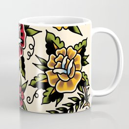 Flower tattoo Coffee Mug