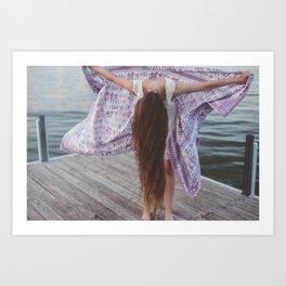 the tapestry Art Print
