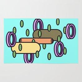 Hot dog Plain Rug