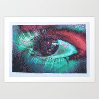 Obstructed Vision Art Print