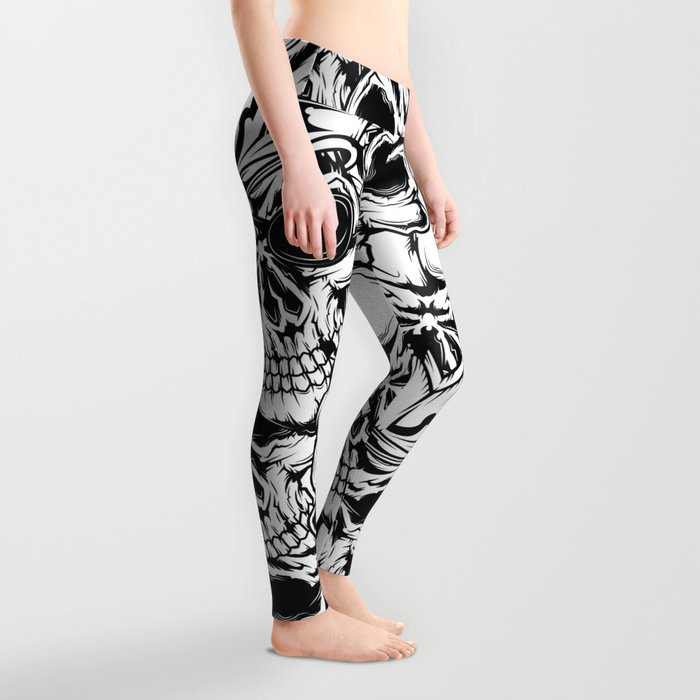 Pirate - Black - Pirate Leggings