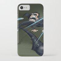 matrix iPhone & iPod Cases featuring Matrix by alexviveros.net