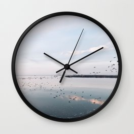 BLUE MOON XXII / Alviso, California Wall Clock