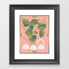 Design With Fun ~ chapter 05 Framed Art Print