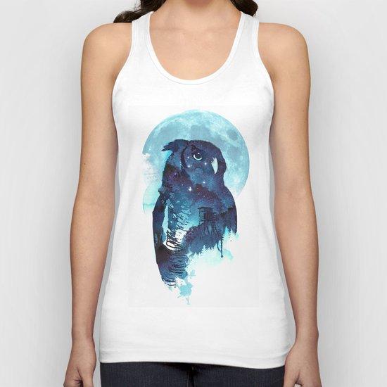 Midnight Owl Unisex Tank Top