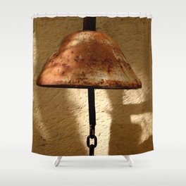 Rusty Bell Shower Curtain
