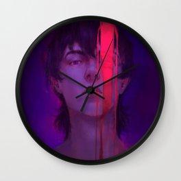 Red Paladin Wall Clock