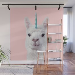 ALPACA UNICORN Wall Mural