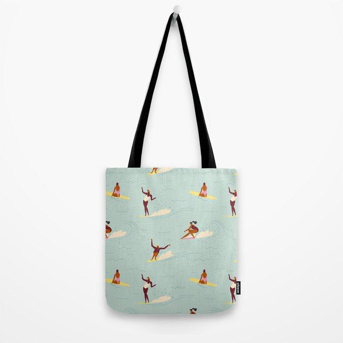 Waikiki beach Tote Bag