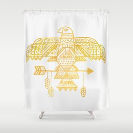 Hawk Eye Shower Curtain