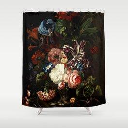 "Ernst Stuven ""Still life of flowers"" Shower Curtain"