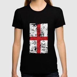 Union Jack Faded London Flag T-shirt