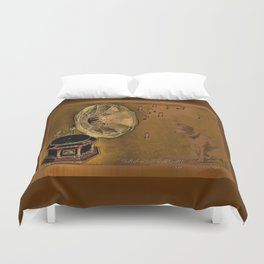 His Master's voice Duvet Cover
