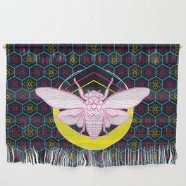 Geometric Cicada Wall Hanging