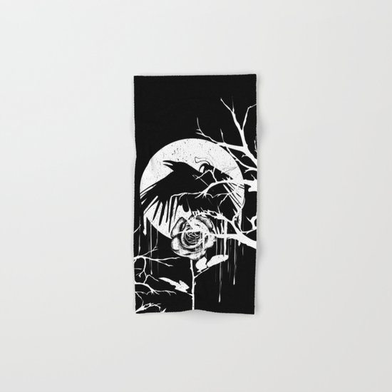 Raven and Rose Hand & Bath Towel