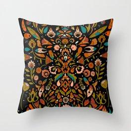 Botanical Print Throw Pillow