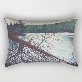 Raven Lake, Algonquin Park Rectangular Pillow
