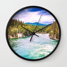 'Murica Landscape Wall Clock