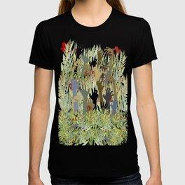 In A Zombie Garden T-shirt