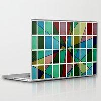 mosaic Laptop & iPad Skins featuring Mosaic by Tammy Kushnir