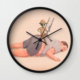 The Big Hunt Wall Clock