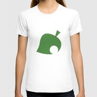 animal crossing T-shirts featuring Animal Crossing Leaf by Rebekhaart