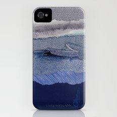 Lost at Sea iPhone (4, 4s) Slim Case
