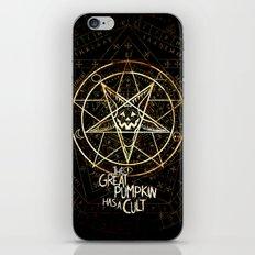 Cult of the Great Pumpkin: Pentagram iPhone & iPod Skin