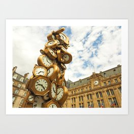 Time for All Art Print