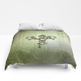 Wonderful decorative chinese dragon Comforters
