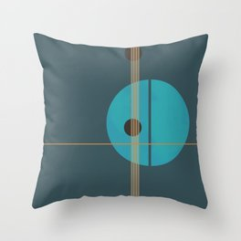 Geometric Abstract Art #4 Throw Pillow
