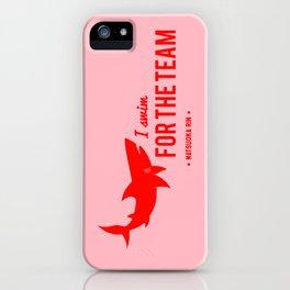 FOR THE TEAM - Matsuoka Rin iPhone Case